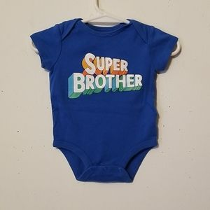 "Carter's ""Super Brother"" Onesie"